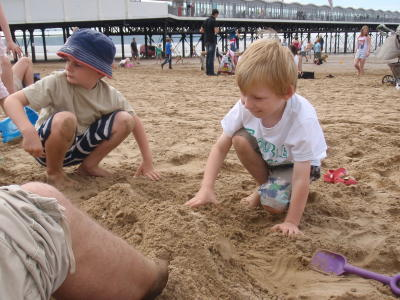 Sunday School Outing to Weston-super-Mare